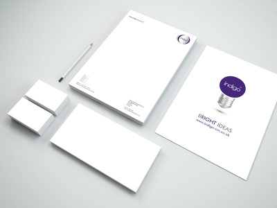 Design professional stationary branding