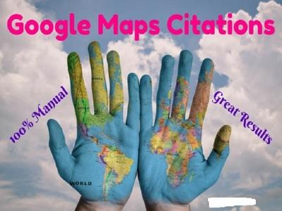 Do 150 google map citations for local SEO