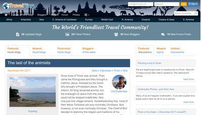 Guest post on travelblog.org DA66 Dofollow backlink