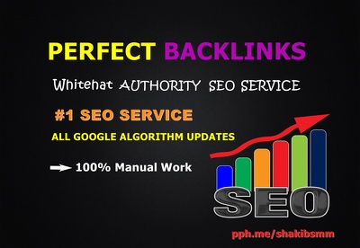 SEO BACKLINKS - Whitehat AUTHORITY Link Building Service