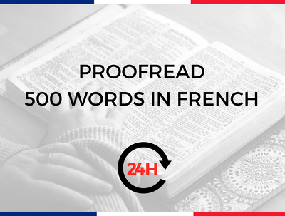 Proofread a 1000 words French document on a variety of topics