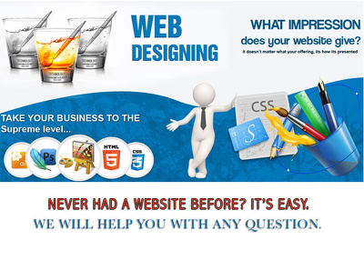 Design & Develop your Professional Responsive Website Design