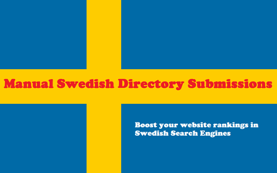 Submit your website to 20 Swedish Directories manually