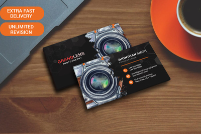 Design dual sided professional business card