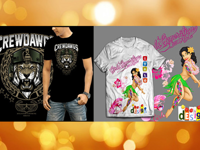 Design an unique, modern and eyecatching t-shirt.