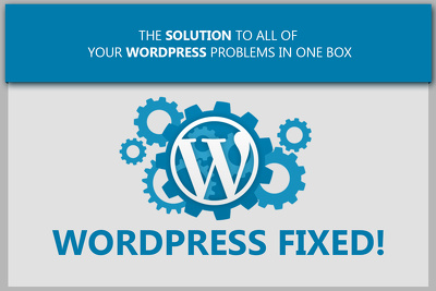 Fix any type of wordpress issues or worpdress problems