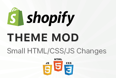 Modify your Shopify Theme