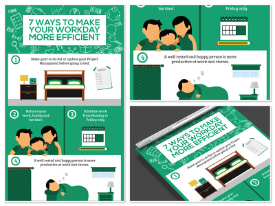 Design custom infographic in 24 hours + unlimited revisions