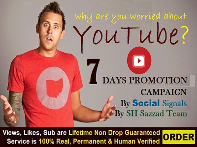 Do viral youtube promotion to get organic viewers and SEO