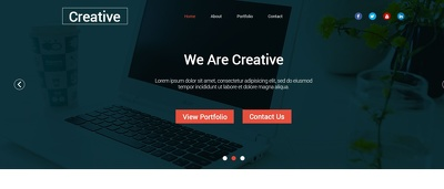 Convert  PSD project into HTML/Bootstrap