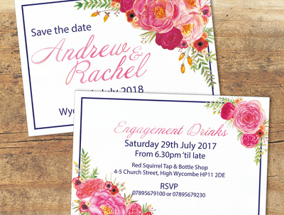 Design a wedding invitation