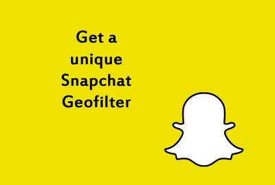 Design A unique Snapchat Filter/Geofilter