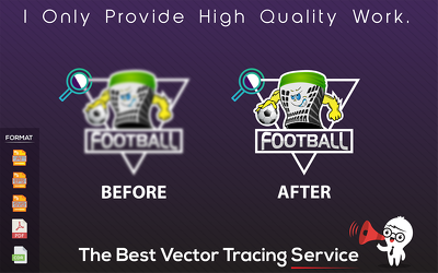 Professionally Convert Your Logo Or Image Into Vector