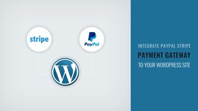 Integrate Paypal/Stripe/Paygate/Payumoney/Payulatam in wordpress