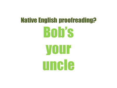Offer native English Proofreading for an hour