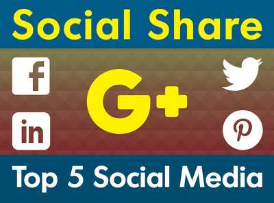 Share Your Website Link or URL in Top 5 Social Media