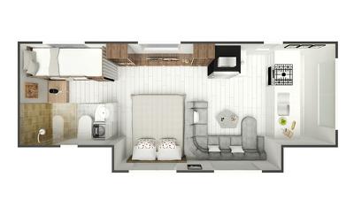 Convert 2d to 3d Floor Plan In 24 Hrs
