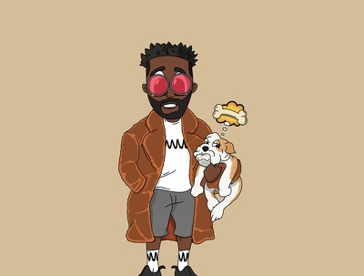 design cartoon characters for your Mixtape, Album or other