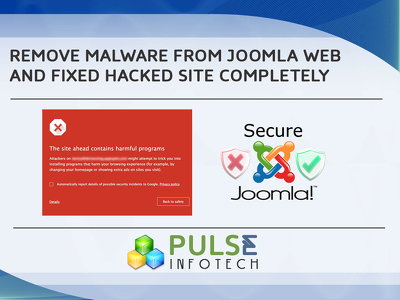 Remove malware/virus and fix hacked Joomla site