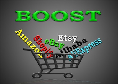 Promote any Amazon, eBay, Etsy, Alibaba or Shopify store
