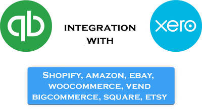 Integrate Xero or Quickbooks to Ecommerce platform