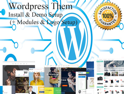 Wordpress Theme Install & Demo Setup (+ Plugins & Logo Setup)