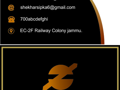 Design any professional visiting  card in afordable price