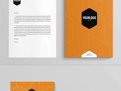 Design business card, letterhead,and stationery branding