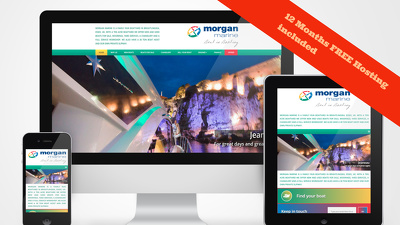 Platinum Grade Premium Responsive Wordpress Website with Hosting