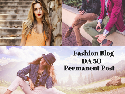 Write and guest post fashion da 50 blog