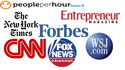 Publish a FEATURED guest post on Forbes,Wsj, foxnews and CNN