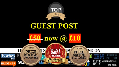 Publish a guest post on DA 20-55+ , All Niche, Unlimited Posts!