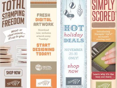 Design Your Banner Ads in 6 Sizes
