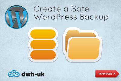 Create a Safe WordPress Backup