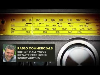 Record a great sounding radio advert commercial trailer