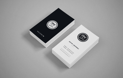 Design a professional stationery Items