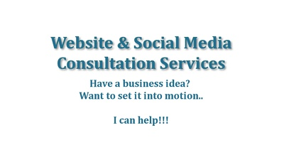 Do Website & Social Media Consultation Services