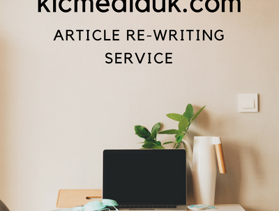 Rewrite any 500w article, blog or web page + copyscape