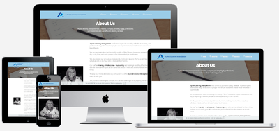 Deliver responsive small business or landing page websites