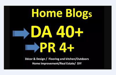 Guest Post On DA35 Home Improvement Blog