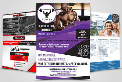 Design Professional Creative Flyer Or Leaflet