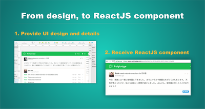 Implement your UI component from designs with ReactJS