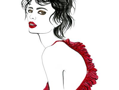 Make a fashion style portrait