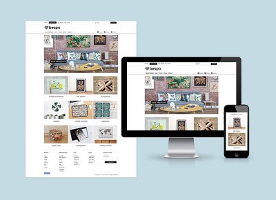 Design and build your online shop ecommerce website