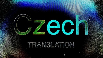 Translate and edit 1000 words from English to Czech