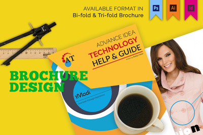 Design attractive  brochure,flyers,leaflets  within 12 hours