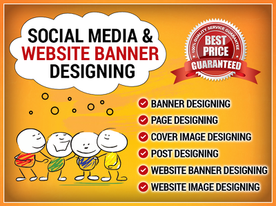 Design BANNER / IMAGE /PAGE / POST for Social Media or Website
