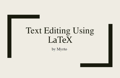 Write  15 pages in latex