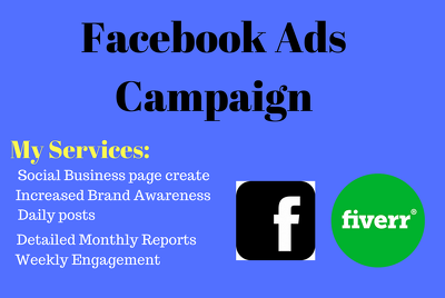 Create facebook ads for your business page