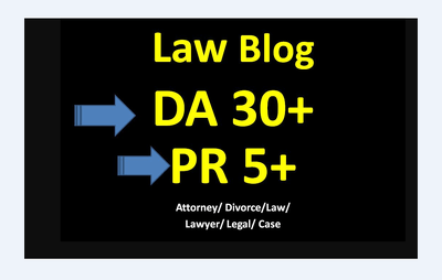 Do Guest Post On HQ DA40 Law Blogs